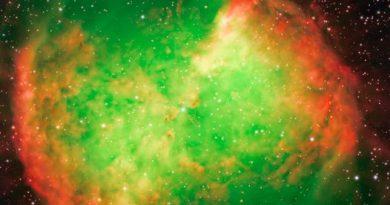 """טלסקופ החלל צ'נדרה של סוכנות נאס""""א בפעולה"""